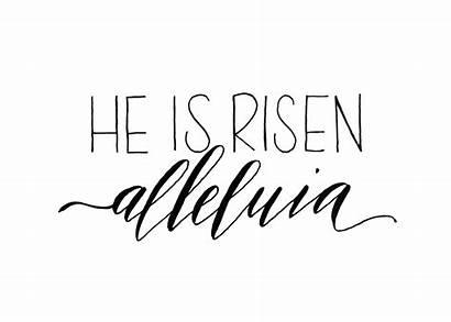Risen He Clipart Tomb Empty Easter Transparent