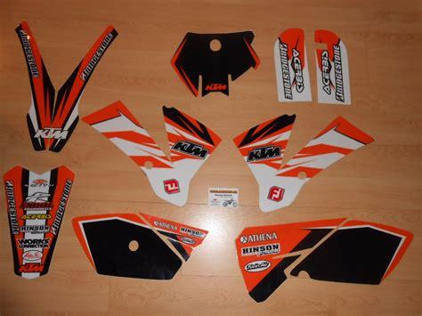kit deco ktm 2005 kit d 233 co complet ktm sx 85 2003 224 2005 rd2shop fr