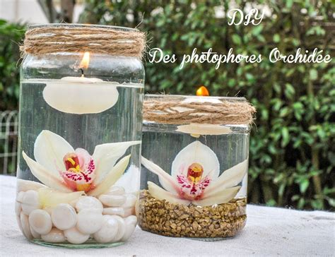 idee decoration mariage les photophores orchidee