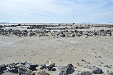Scala Jetty by The Mythic Scale Of History And Labor At Spiral Jetty