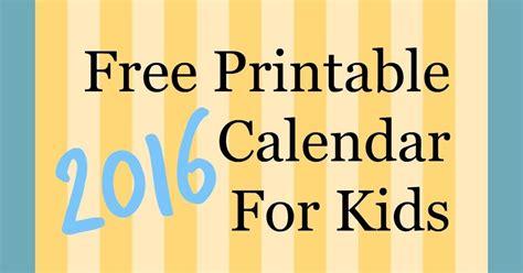 printable  calendar  kids parenting times