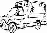 Coloring Ambulance Printable Ambulans Karetka Sheets Truck Hospital Sheet Pepsi Ems Important Lego Vingel Books Swat Facility Medical Care Drawing sketch template