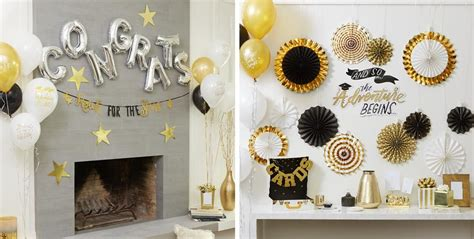 Your grad will probably love our graduation party props, and a photo banner will make a great keepsake for a dorm room after the party is over. Graduation Wall Decorations   Party City   Graduation decorations