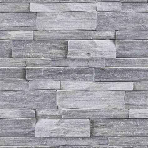 superfresco easy cm   stone wall grey bunnings