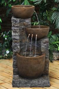 Garden Oasis 3 Tier Fountain 35""