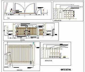 Ms main gate design plan n