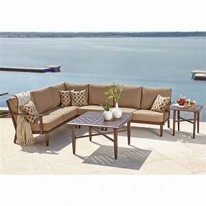 17 best images about outdoor furniture on pinterest for Outdoor sectional sofa costco