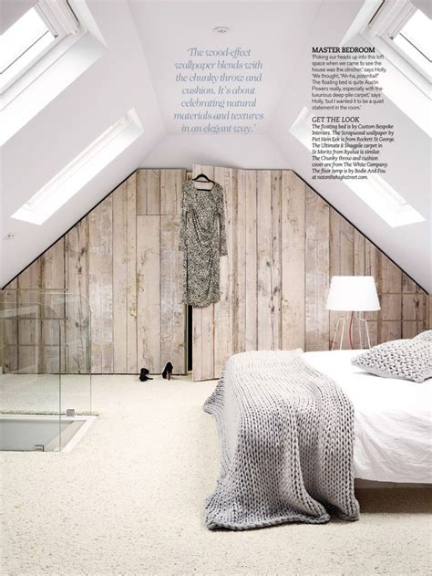 Holz Tapete Schlafzimmer by Bedroom Wood Effect Wallpaper For The Home