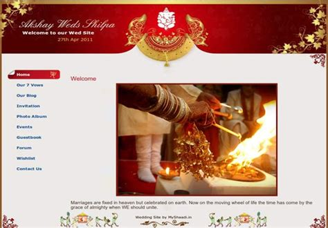 43 Best Wedding Website Themes Images On Pinterest