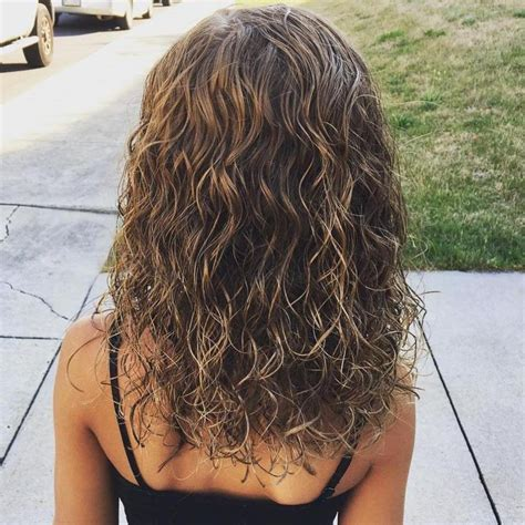 can you perm colored hair best 25 wavy perm ideas on perm hair wavy