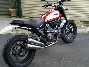 Ducati Scrambler 800 : ducati scrambler 800 muffler silmotor torque power motorcycles ~ Medecine-chirurgie-esthetiques.com Avis de Voitures