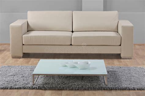 modern minimalist living room  leather sofa stock image image  fashionable decorate