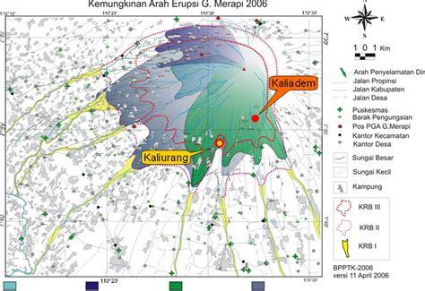 potensi bencana sekitar gunung merapi khususnya sma taruna