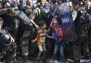 Refugee crisis in Europe - Macedonian Border