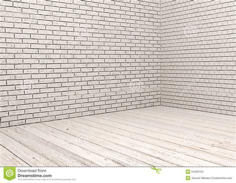 white brick floor white brick wall and white wood floor stock photo image 54439164