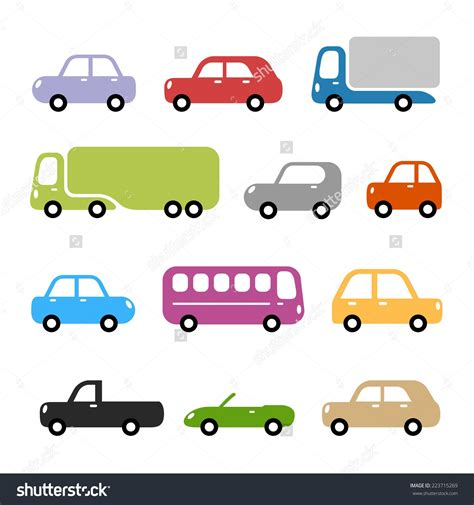 Stock-vector-cars-illustration-different-car-types-in