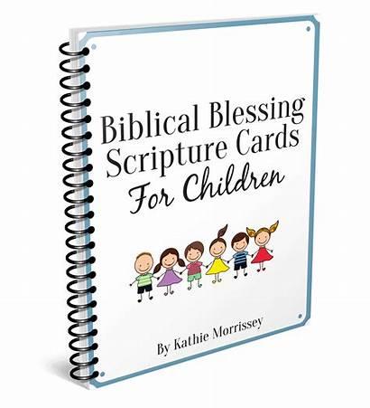 Blessing Scripture Biblical Children Cards Character Corner