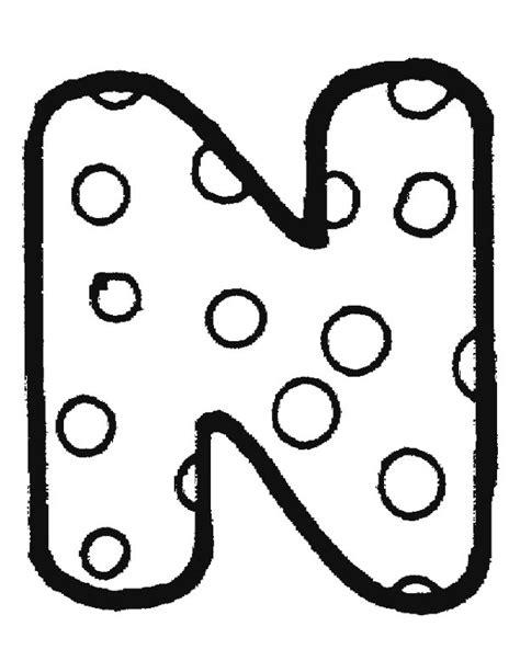N Kleurplaten by N 26 Kleurplaten Alfabet