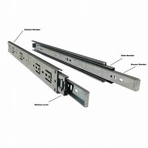 Linear Drawer Slides - Drawer Sliding Rails