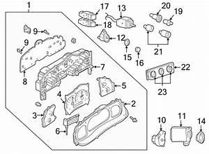 Ford Explorer Sport Trac Instrument Panel Light Bulb