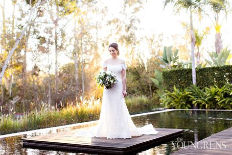 Rancho Valencia Bridal Session Catherine The Youngrens