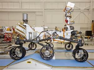 NASA - Mars Rover Curiosity, Right Side View
