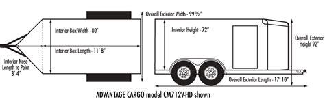 custom cargo advantage cargo v front