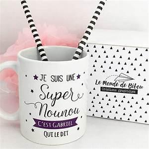Idee Cadeau Pour Remercier Une Nounou : 10 id es de cadeaux personnalis s pour une super nounou ~ Dallasstarsshop.com Idées de Décoration