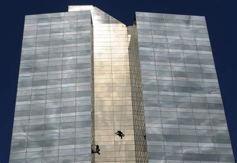 bosuns chair window cleaning la windows window cleaning high rise commercial window