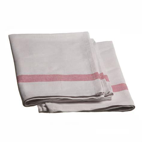 torchons et serviettes cuisine torchon de cuisine en coton mjpro restauration