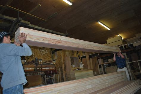lightweight wood beams easy to work with sing core ? Non