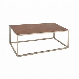 wyatt metal top wood pub table With metal frame coffee table with wood top