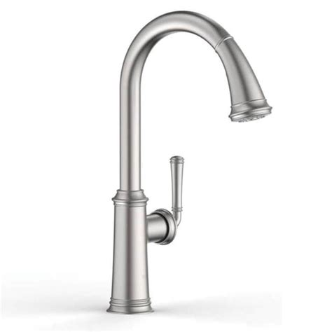 kitchen faucet grohe shop grohe gloucester stainless steel 1 handle deck mount
