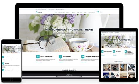 Wp Themes Flash Best Free Multipurpose Responsive