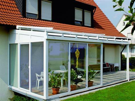 verande chiuse in legno e vetro verande chiuse