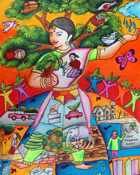 save earth painting competition   save water