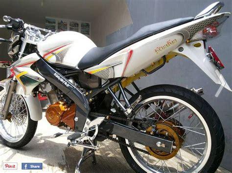 Velg Racing Jari Jari Warna Ungu Png by Modifikasi Vixion 2012 Simpel Minimalis Warna Putih Oto