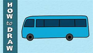 Kids Educational Series - How to Draw a School BUS ...