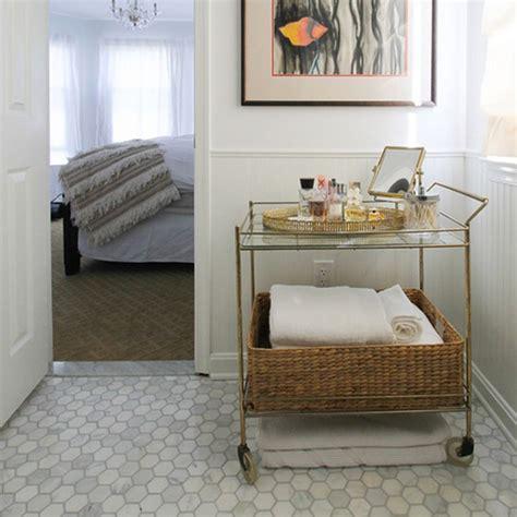 calacatta oro gold honed hexagon marble mosaic bathroom tiles