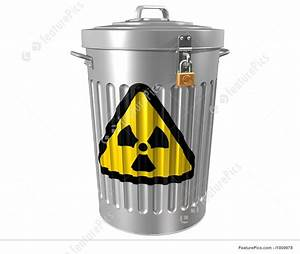 Waste And Recycle: Radioactive Waste - Stock Illustration ...