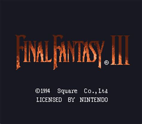 final fantasy iii usa rom