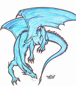 Image Gallery ice dragon drawings
