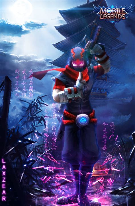 Quote Mobile Legend Hayabusa hayabusa of mobile legends by laxzear on deviantart