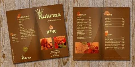 How To Make A Restaurant Look On A Resume by 10 Most Appetizing Restaurant Menu Card Design