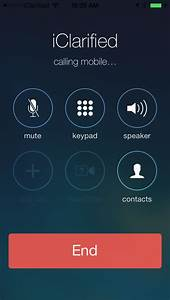 Ios 7 1 Beta 3 Brings New Iphone Call Screens  New Power Off Slider  Images