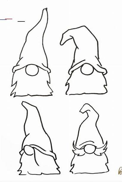 Gnome Wood Gnomes Patterns Burning Stencils Pyrography