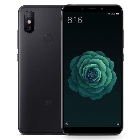 global version xiaomi mi a2 5 99 inch 6gb 128gb smartphone black