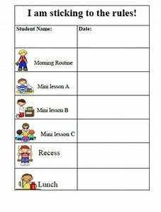 Classroom Conduct Chart 27 Awesome Printable Daily Behavior Charts Images