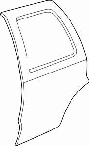 Gmc Envoy Door Shell  W  Short Wheel Base  Gmc  Left  Rear