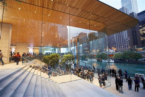 brandchannel apple chicago don t call it a store it s a town square